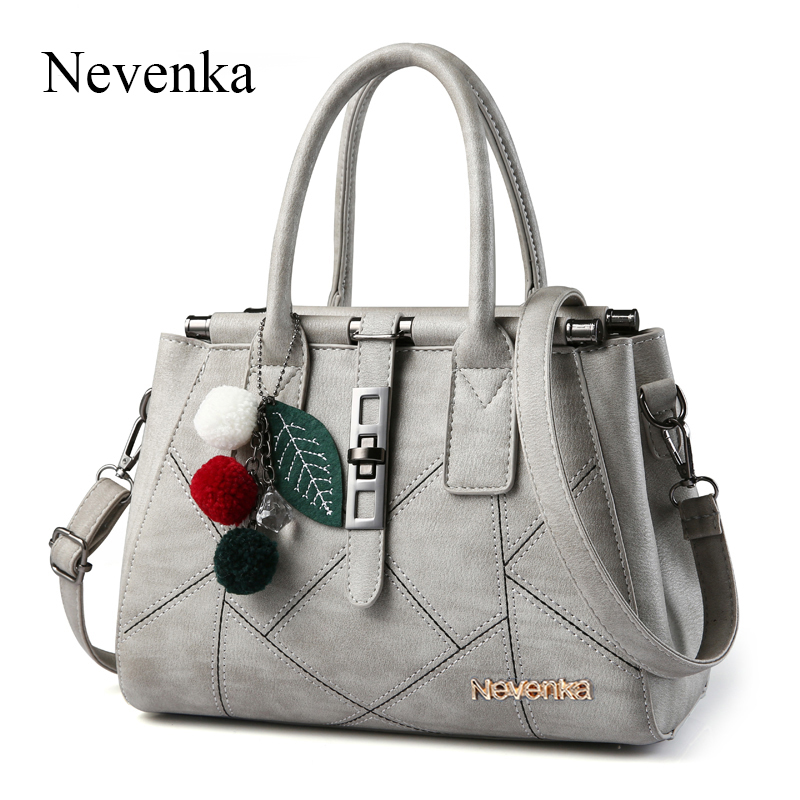 Nevenka Fashion Woman Handbag Top handle Shoulder Bags PU Leather Evening Frame Spring New Handbags Designer