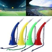 Гонорар фанатов футбольных игр Черлидинг заправка реквизит бык Рога Vuvuzela ребенок Трубач-игрушка