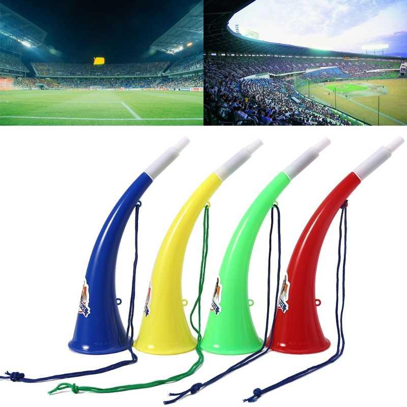رسوم الشحن لعبة كرة القدم المشجعين التشجيع التزود بالوقود الدعائم Ox القرن Vuvuzela طفل البوق لعبة