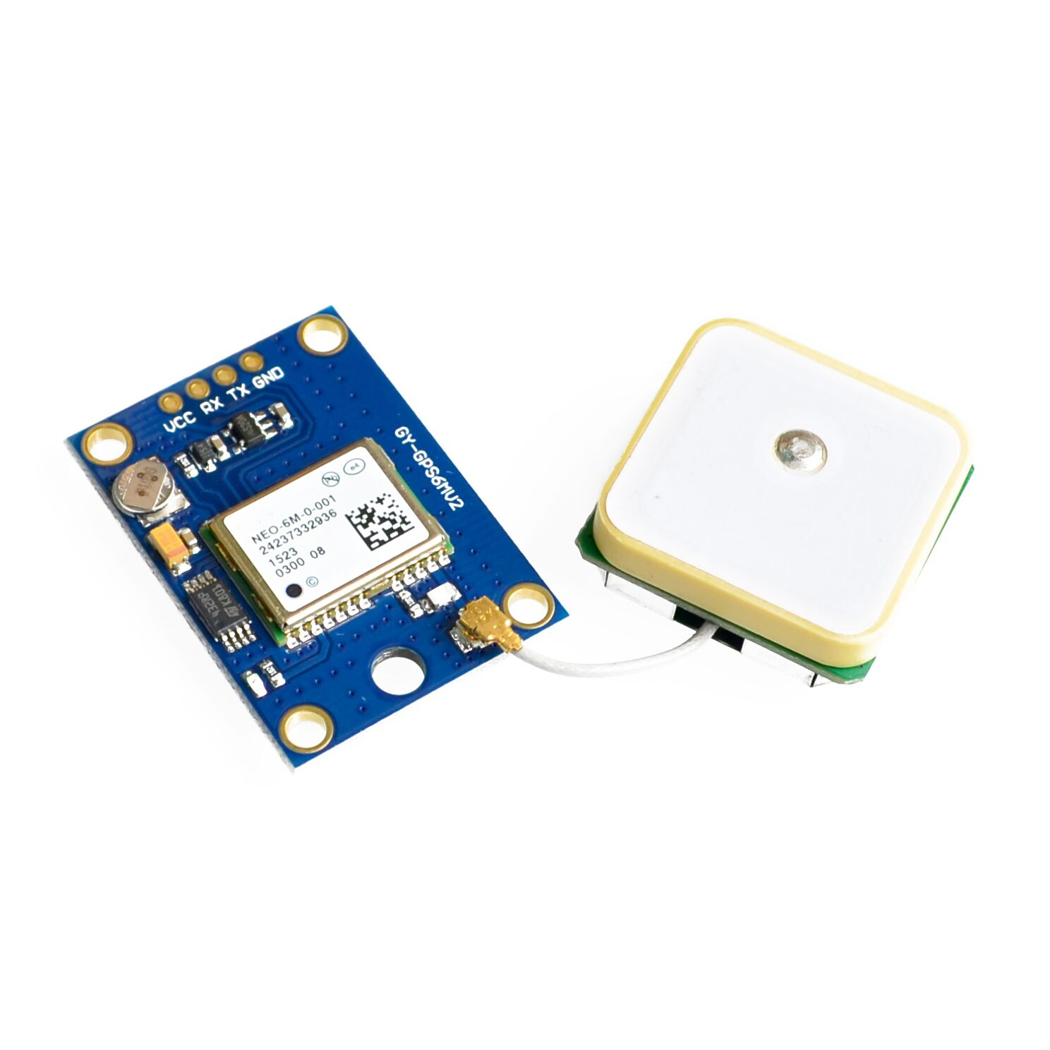 ! GY-NEO6MV2 New NEO-6M GPS Module NEO6MV2 With Flight Control EEPROM MWC APM2.5 Large Antenna For