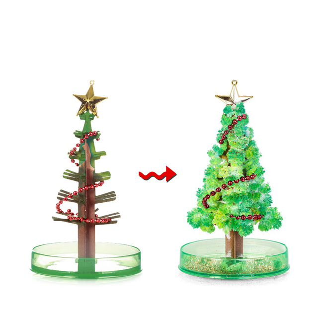 Image result for magic crystal christmas tree