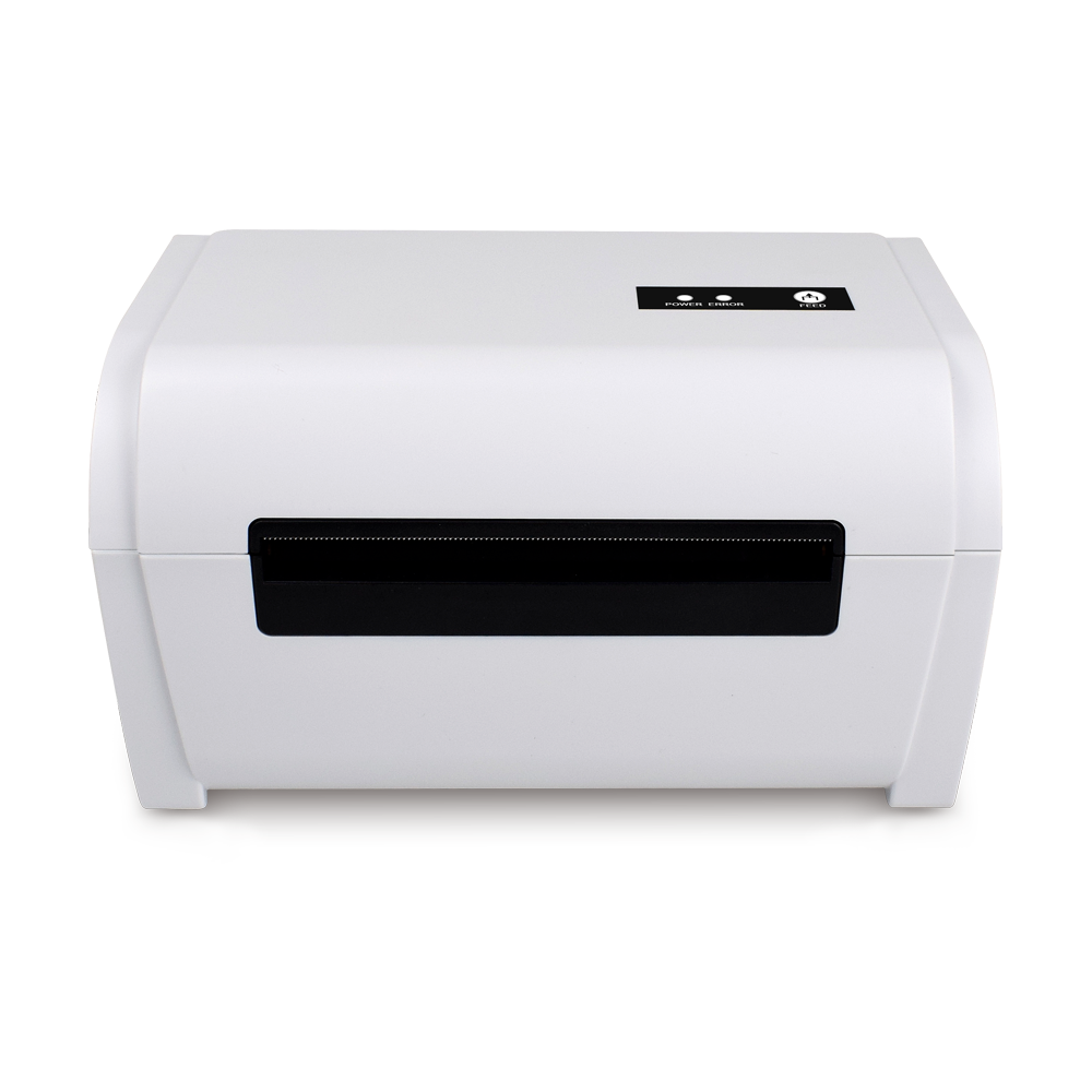 LP9200 Small Size Label Printer 110mm Width High Speed White Color Barcode Sticker Printer
