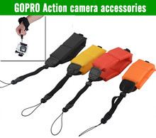 Gopro HERO 4 3 3 Camera submersible Floating bobber hand wrist strap for PowerShot D20 D30
