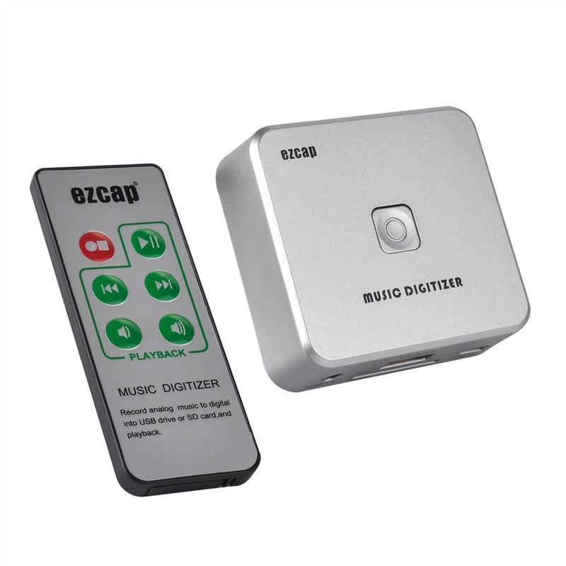 Card Audio Capture, канвертаваць старую музыку ў лічбавым фармаце mp3, захаваць у USB-назапашвальнік або карту SFD TF непасрэдна, свабодная перавозка грузу