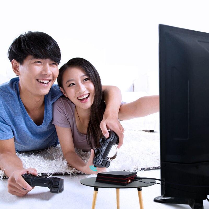 Data Frog Console de jeu vidéo rétro avec contrôleur sans fil 2.4G 600 Hdmi jeux vidéo classique pour Gba/Snes famille Tv rétro Gam - 4
