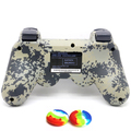 Green camouflage style controller for PS3 wireless vibration handle handle double handle PlayStation3 PS3 gamepad