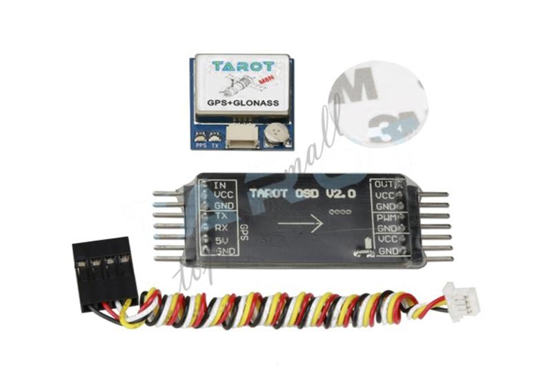 Tarot TL300L2 Mini OSD Image Vidéo Superposition chevauchement GPS Système V2.0 GPS GLONASS M8N