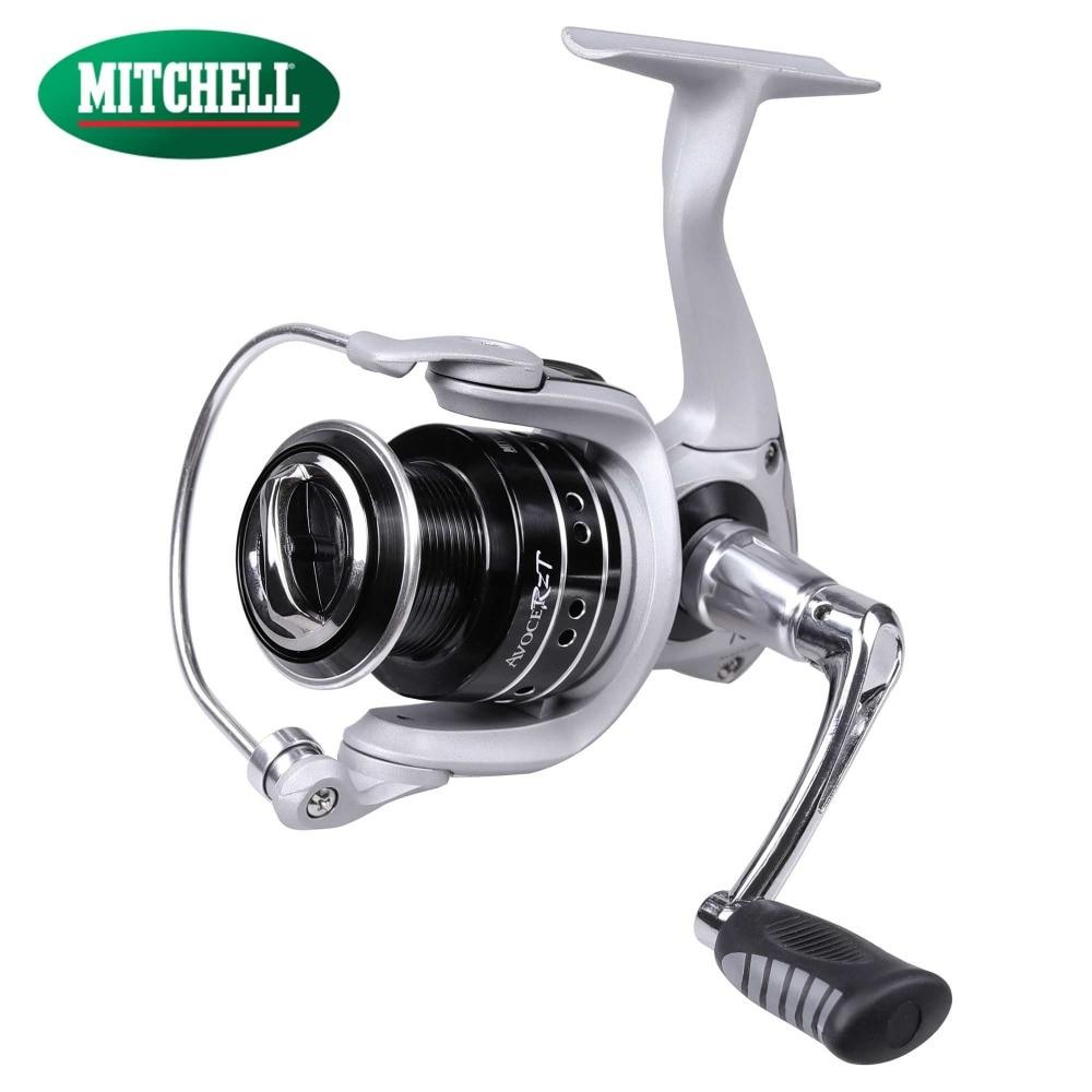 100% Original Mitchell AVOCET RZT 500UL 1000 2000 3000 4000 Spinning Fishing Reel 8+1BB Front Drag Oil Felt Carp Fishing Wheel цена и фото