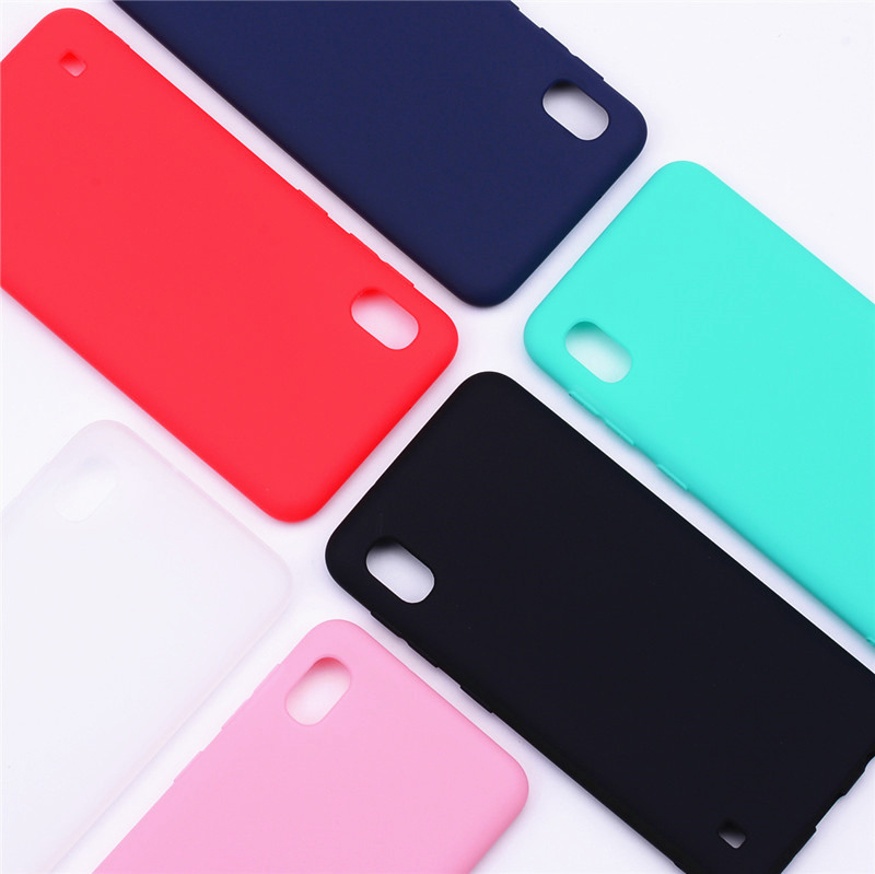 For <font><b>Samsung</b></font> Galaxy <font><b>A10</b></font> Case Soft Silicone Matte Color Phone Case For <font><b>Samsung</b></font> Galaxy <font><b>A10</b></font> Case For <font><b>Samsung</b></font> <font><b>A10</b></font> Case Cover <font><b>Funda</b></font> image