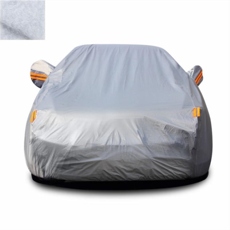 Car Cover PEVA PP Cotton Double Layer Outdoor Sun Protection Cover Car Reflective Dust Rain Snow Resistant tech 2 scanner for sale