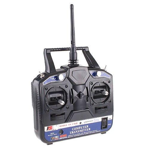 2.4 г flysky емкостно ФС-CT6B 6 канальный Радио модель RC передатчика приемник Хели планер
