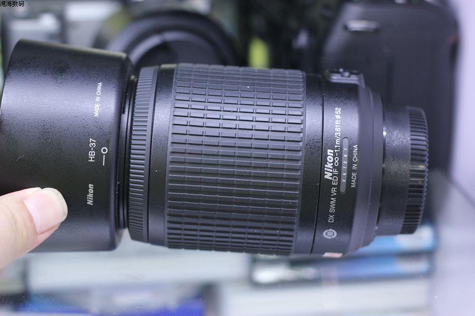 VERWENDET Nikon 55 200mm f/4 5,6G ED WENN AF S DX VR Nikkor Zoom Objektiv [Vibration Reduktion] - 5