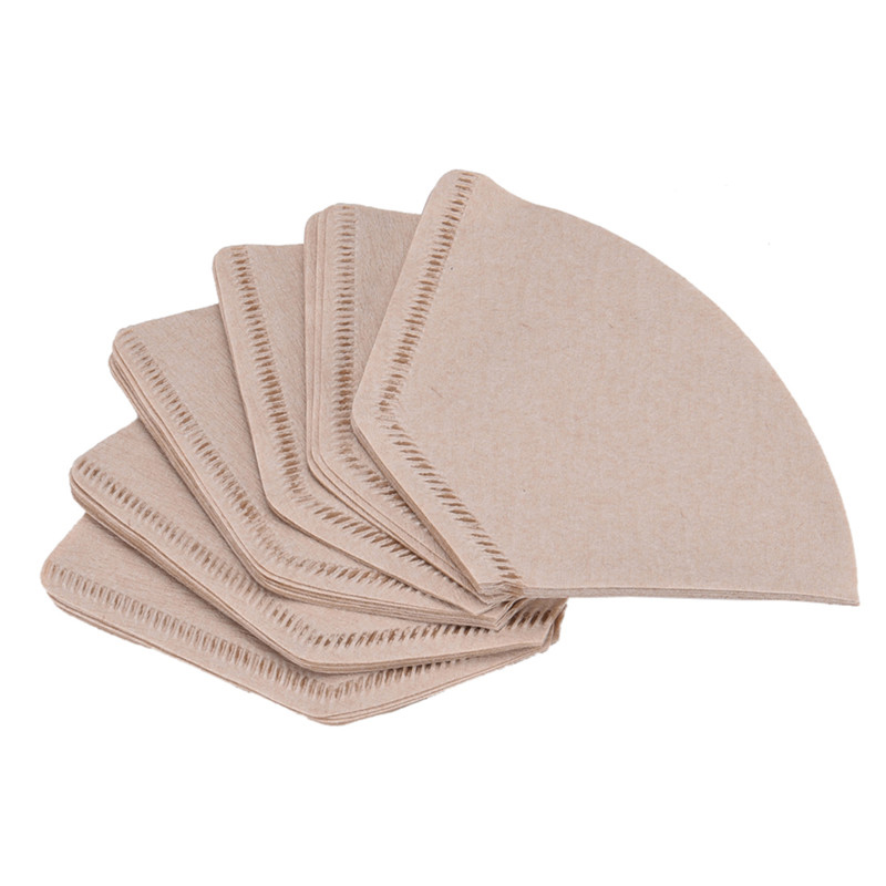 100pcs/lot Coffee Filter Paper V60 Filter Cup Special 102 Coffee Filter Paper for 102 Coffee Dripper Espresso Coffee Maker