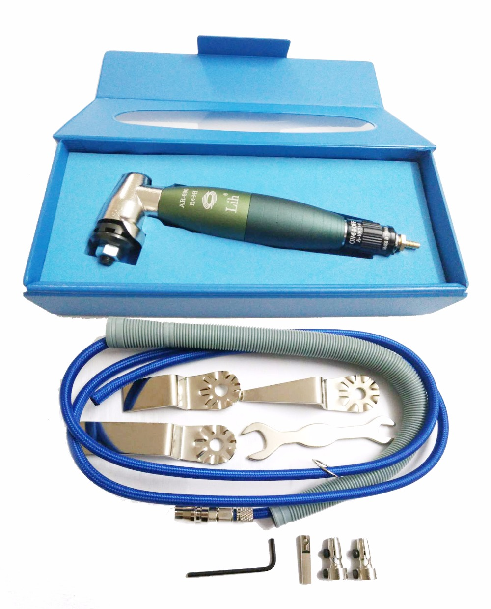 где купить Pneumatic Tools Air Tools AR-690 Air Lapper Turbolap Lapping Grinding Tools Turbolap Linear Saw Windshield Cutter Knife Set по лучшей цене