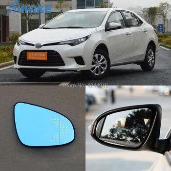 SmRKE pour Toyota Levin rétroviseur de voiture grand Angle Hyperbola bleu miroir flèche LED clignotants