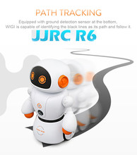 JJRC R6 RC Robot Intelligent Programming Remote Control Robotica Toy Biped Humanoid Robot RC Toys For Children Kids Birthday(China)