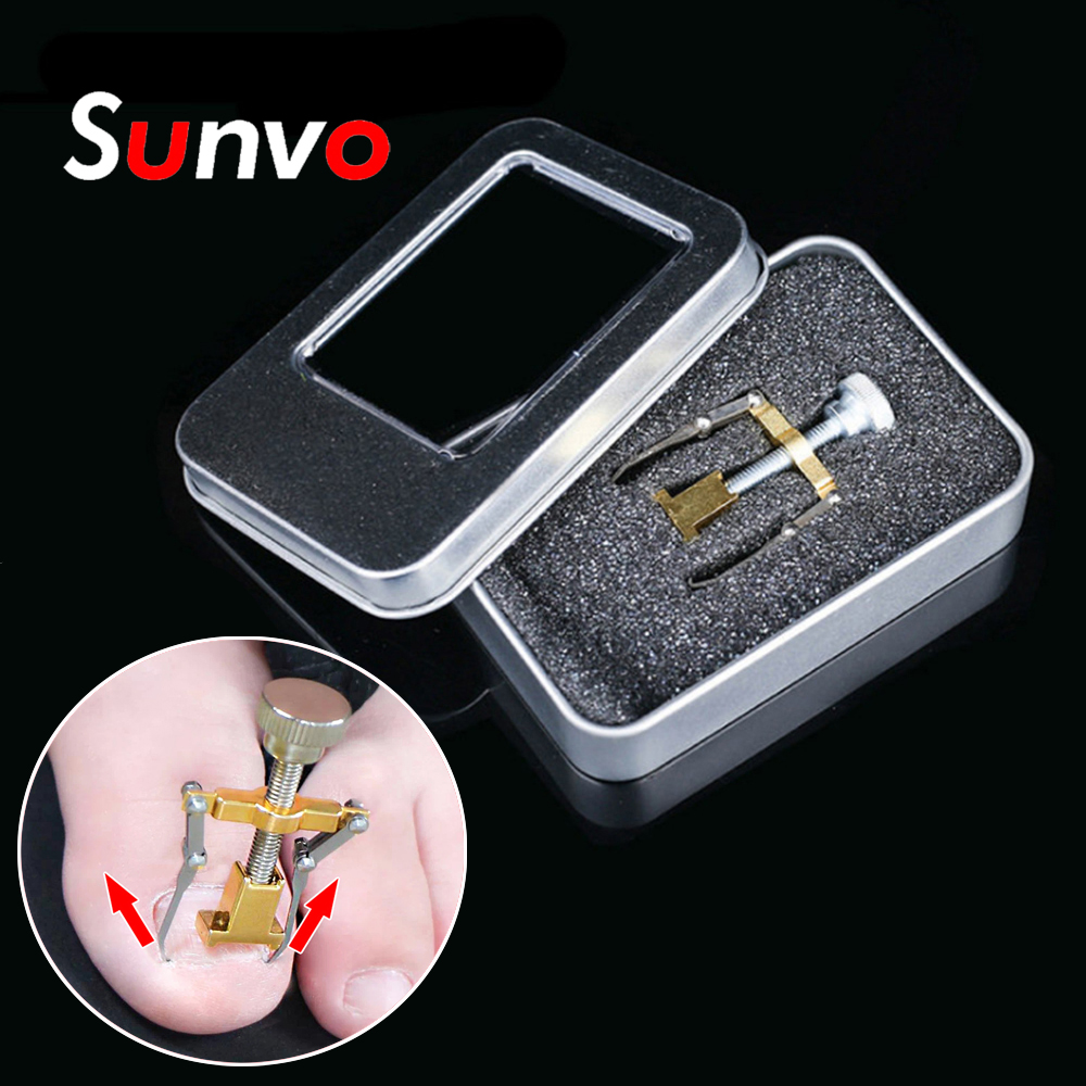 Sunvo Toe Nail Correction Tool for Ingrown Nail Paronychia Pedicure Recover Fixer Orthotic Corrector Foot Care Orthopedic InsoleSunvo Toe Nail Correction Tool for Ingrown Nail Paronychia Pedicure Recover Fixer Orthotic Corrector Foot Care Orthopedic Insole