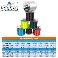 Senma 1000M Nylon Fishing Line Premium Japanese Bionic 1094Yds Monofilament Nylon Line Leader 2-35LB Test 7 Colors Available