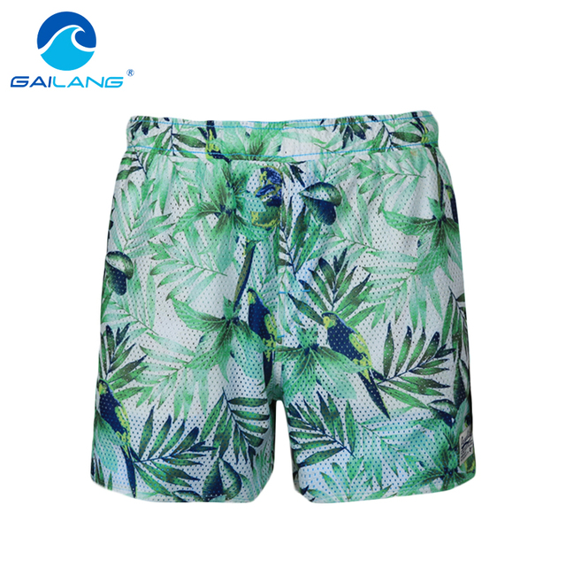 Gailang Brand Men Shorts Casual Jogger Sweatpants Activewear Mens Beach Board Shorts Trunks Swimwear Swimsuits Quick Drying