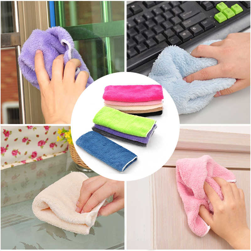 Multifunctional household Cleaning wash Cloth Dishcloth Computer Dust Cleaning Wipe for dropshipping Kitchen Cleaning Tools