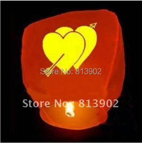 Free shipping 30pcs/lot  Different  Colors Sky Lantern for BIRTHDAY WEDDING PARTY,SL031