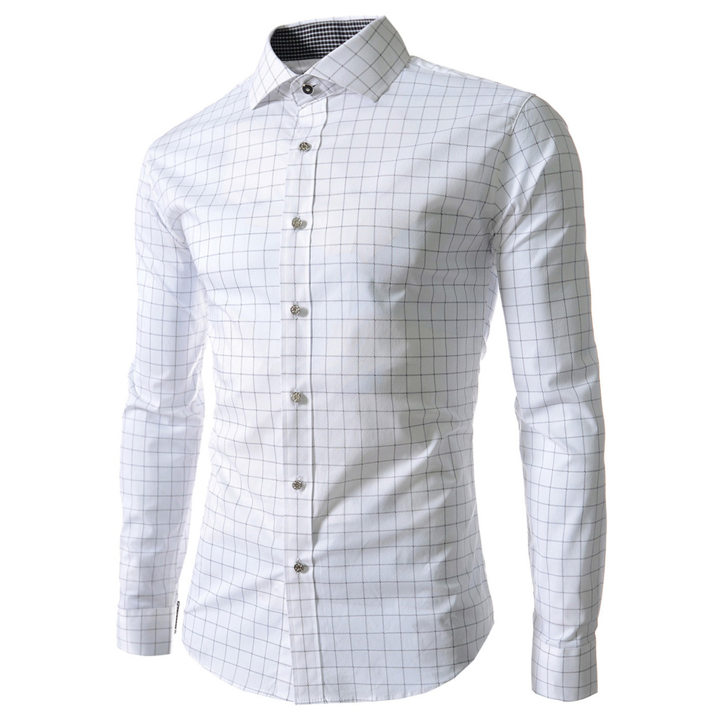 Popular Long Checkered Shirt Dress-Buy Cheap Long Checkered Shirt ...