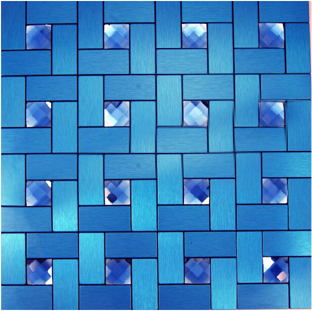 Price For 11sheets Lot Adhesive Wall Tiles Blue Diamond Brushed Vinyl Bathroom Kitchen Backsplash Metal On Aliexpress Alibaba