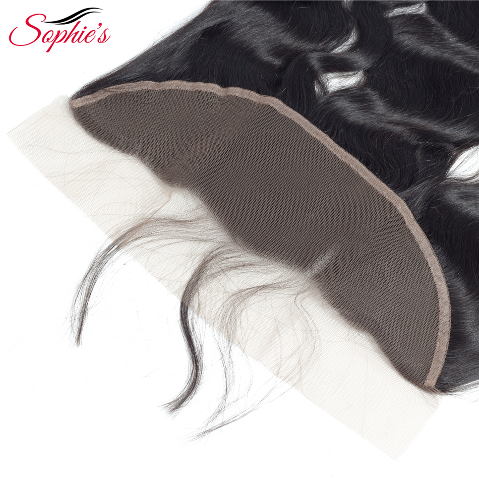 sophie's Hair 3 Bundles Med 13 * 4 Frontal Body Wave Brazilian - Skønhed forsyning - Foto 6