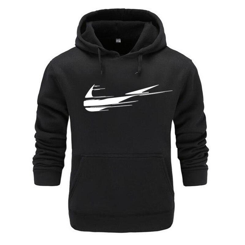 New Fashion Brand Print 2019 Sportswear Hoodies Men's Sweatshirt Male Hooded Good Hoodies Pullover Hoody clothing
