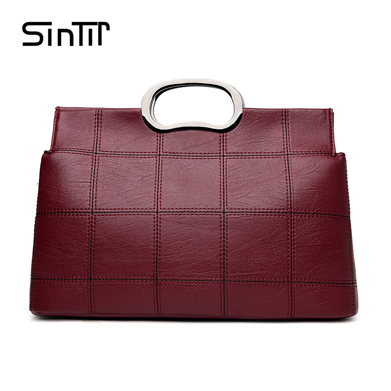 SINTIR 2017 Luxury Brand Women Handbag Classic PU Leather Shoulder Crossbody Bags Vintage Ladies Shell Messenger Bag Sac Femme стоимость
