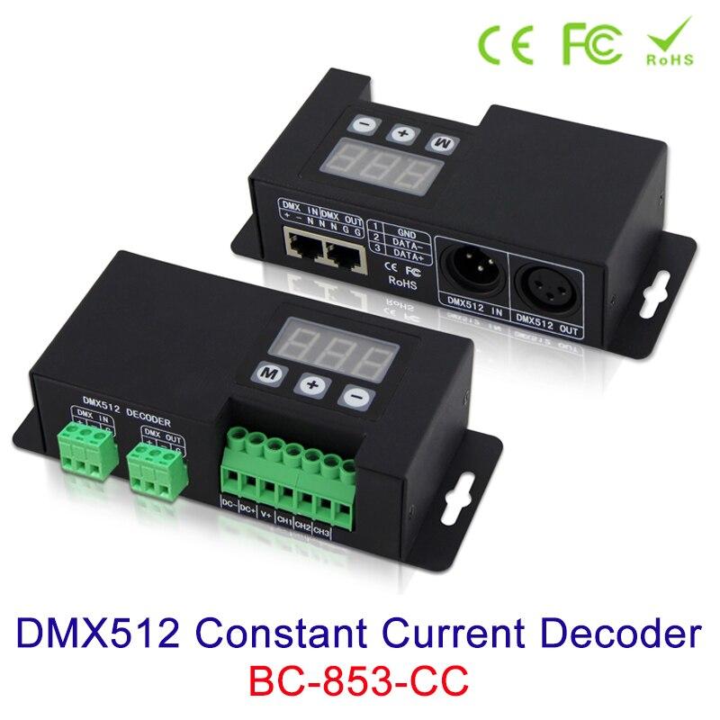 DMX512 3CH Constant Current Decoder 12V 24V 48V input signal DMX512/1990 LED controller 350mA 700mA 1-3 output channels PWM NEW bc 831 cc dmx512 constant current decoder 350ma 500ma 700ma 1050ma ch 1 output