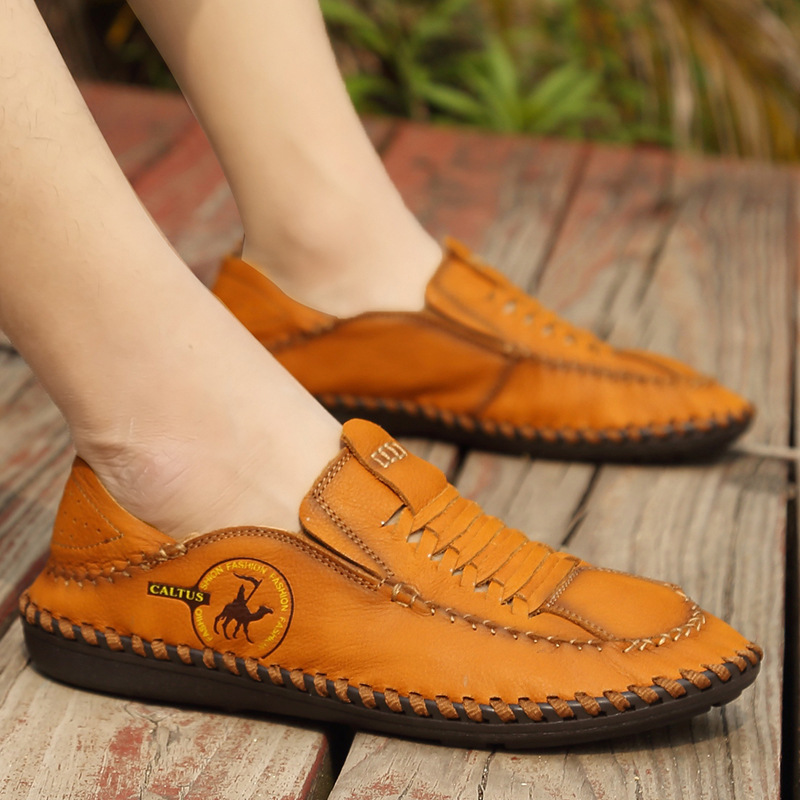 BACKCAME Γνήσια Δερμάτινα Παπούτσια - Ανδρικά υποδήματα - Φωτογραφία 6