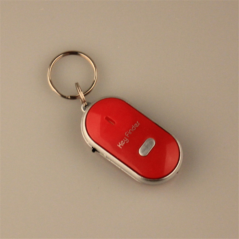 wireless whistle key finder key chains font b led b font light font b led b