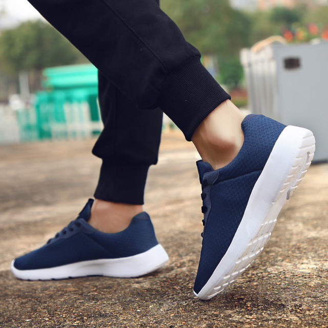 GUDERIAN Plus Size 35-48 Fashion Krasovki Men's Casual Shoes Male Sneakers Lightweight Breathable Shoes Tenis Masculino Adulto 5
