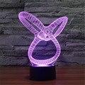 CONDUZIU a Iluminação Da Lâmpada 7 Mudando A Cor Moinho de Vento Bulbificação Lâmpada de Mesa Novidade Visual 3D Toy Kids Presentes de Natal Night Light 3D-TD179
