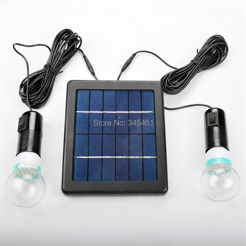 High Efficiency Solar Led Light Bulb Outdoor Solar Lamp