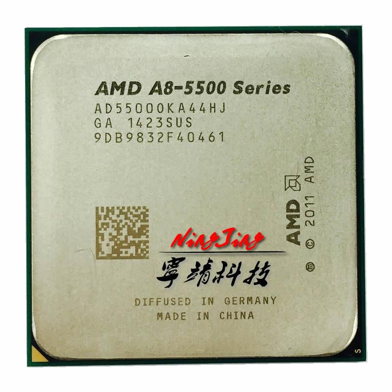 AMD A8 5500 A8 5500K A8 5500B AD5500OKA44HJ AD550BOKA44HJ Trinity socket FM2 3 2GHz 65W quad