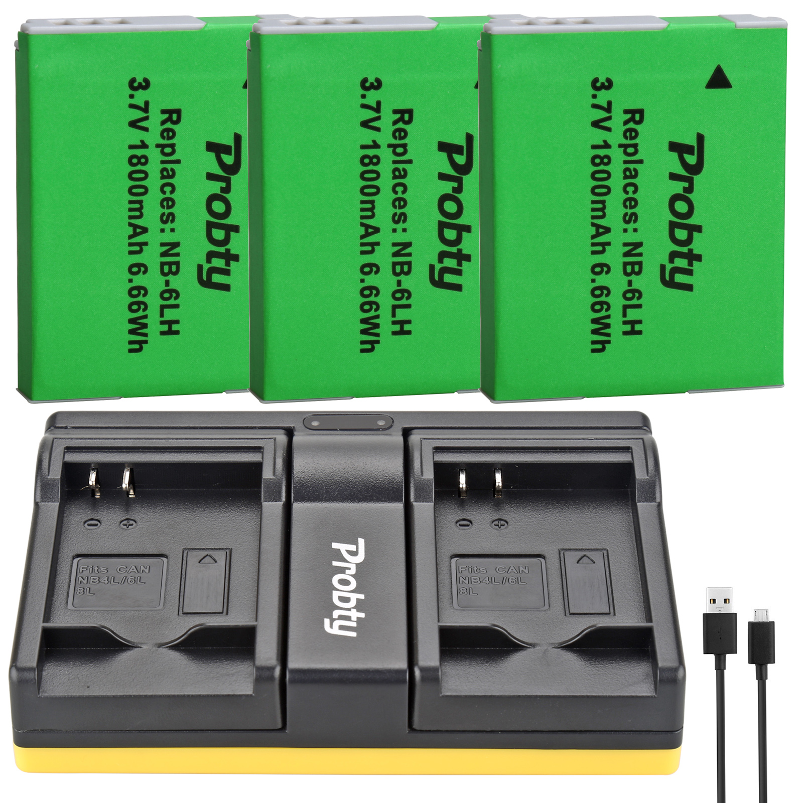 Charger Kit for CANON Digital IXUS 25is 85is 95is