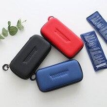 Портативный рефрижератор для инсулина, сумка для льда, медицинская изолированная сумка, сумка-холодильник для лекарств, 1 коробка из 2 упаковок для льда, Экологически чистая