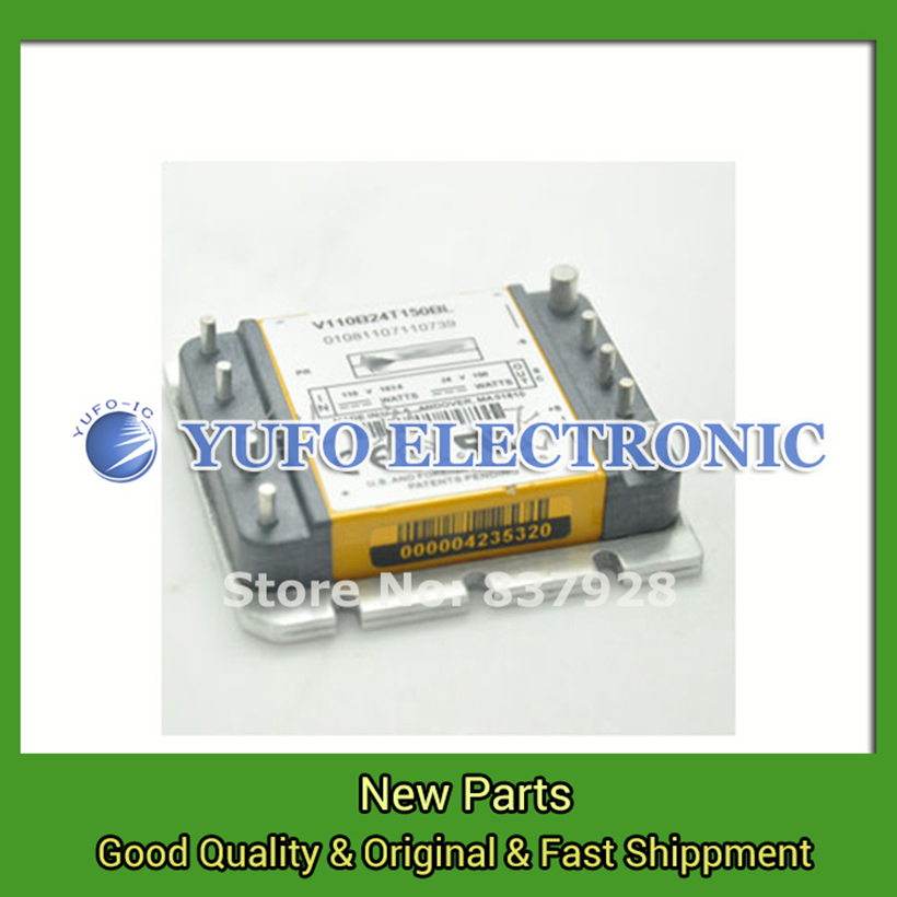 Free Shipping 1PCS V110B24T150BL Power Modules original new Special supply Welcome to order directly photographed YF0617 free shipping 1pcs skm300gb128d power modules original new special supply welcome to order directly photographed yf0617 relay