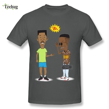 Funny Man Beavis and Butthead or the Fresh Prince of Bel Air T Shirt Classic Anime T-shirt