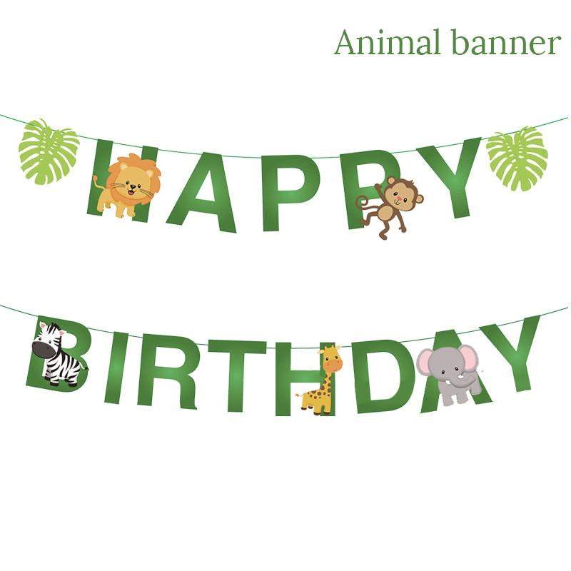monkey 1st birthday decorations L9060
