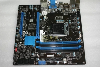 MSI H87M-G43 1150 H87 motherboard supports E3 1230 V3 4570 used 90%new msi z68s g43 g3 1155cpu z68 series