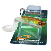 5PCS/lot silicone soft baits 14.7G 10CM lead jig head fishing lures single hook artificial bait softbaits fish Supplies tackles
