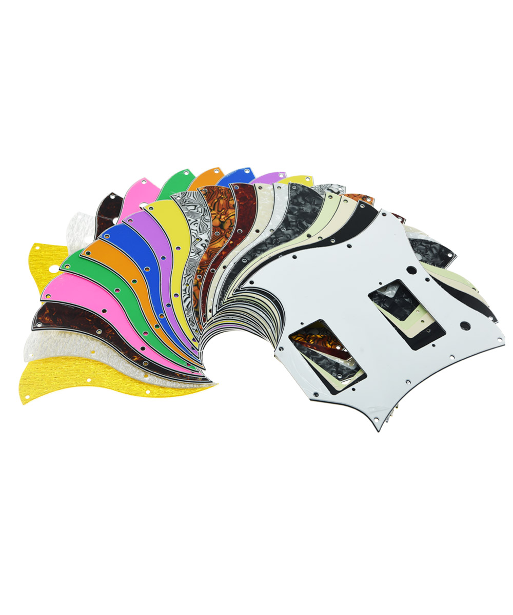 KAISH Standard SG Full Face Pickguard for SG SPECIAL Guitar Various Colors musiclily 3ply pvc outline pickguard for fenderstrat st guitar custom