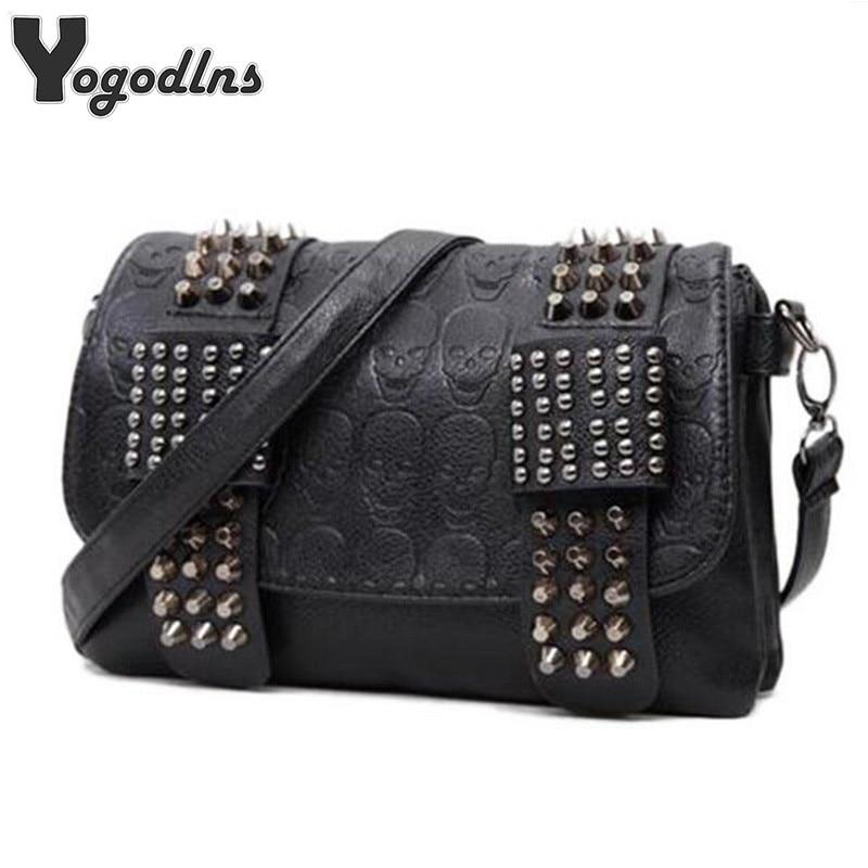 2019-new-fashion-women-black-leather-messenger-bags-fashion-vintage-messenger-cool-skull-rivets-shoulder-bags-sac-a-main-bolsa