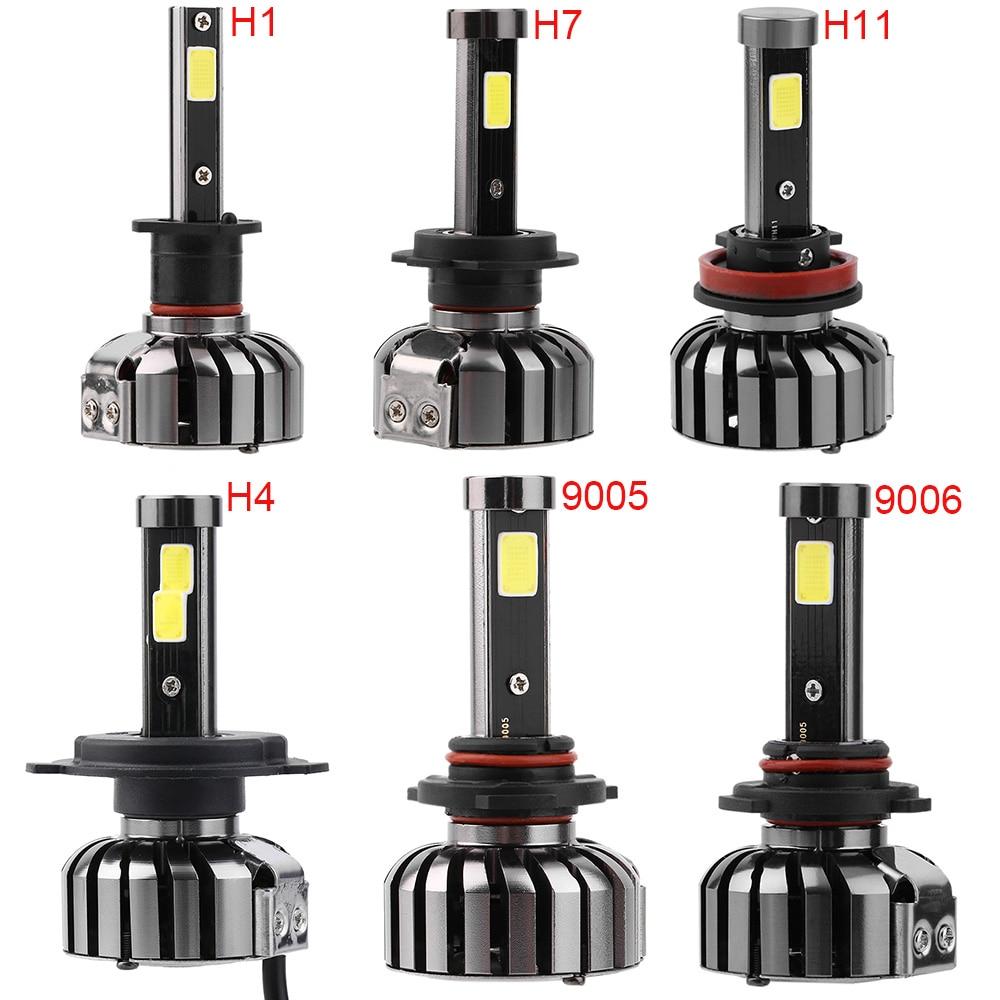 ICOCO N7 H4 H7 LED 12V Car Headlight Kit LED Bulbs 80W H8/H9/H11/H13/9004/9005/9006/9007 6000K 8000LM H4 LED Bulbs Car-Styling h4 car led headlight kit diamond h4 h13 9004 9007 hi lo beam headlight auto front bulbs 6000k 12v car lighting replacement bulbs