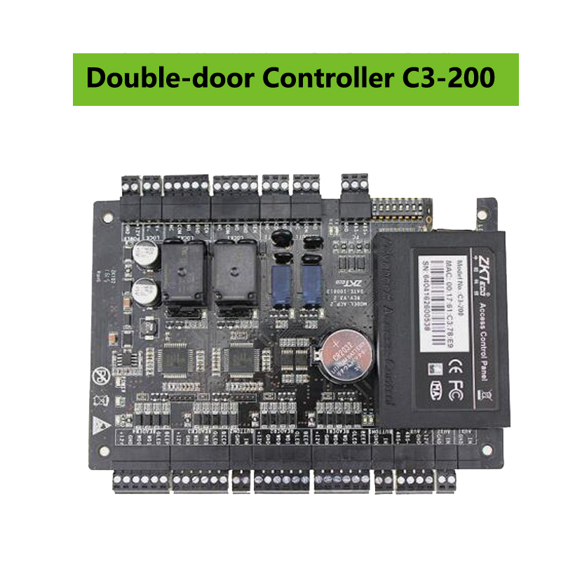 Image 5 - ZK C3 100/200/400 TCP IP Wiegand 26 Door Access Control Panel Board for security solutions access control System 30000Users-in Access Control Kits from Security & Protection