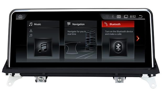 android 4 4 voiture lecteur multim dia gps navigation pour bmw x5 e70 x6 e71 2007 2013 w. Black Bedroom Furniture Sets. Home Design Ideas