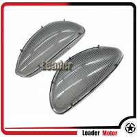 For BMW R1100RT R1100 RT Front Replacement Front Turn Signals Light Lens Clear Certified Blinker Cover